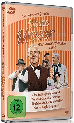 Hans Moser Box, Vier seiner schönsten Filme,