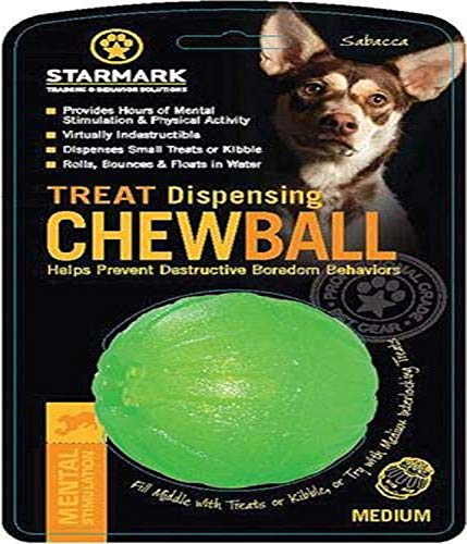 StarMark Treat Dispensing Chewball Gr. M , 7 cm