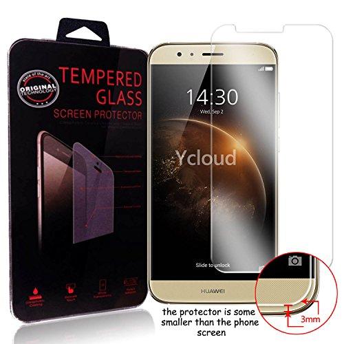 Ycloud Panzerglas Folie Schutzfolie Bildschirmschutzfolie für Huawei GX8 screen protector mit Festigkeitgrad 9H, 0,26mm Ultra-Dünn, Abger&ete Kanten