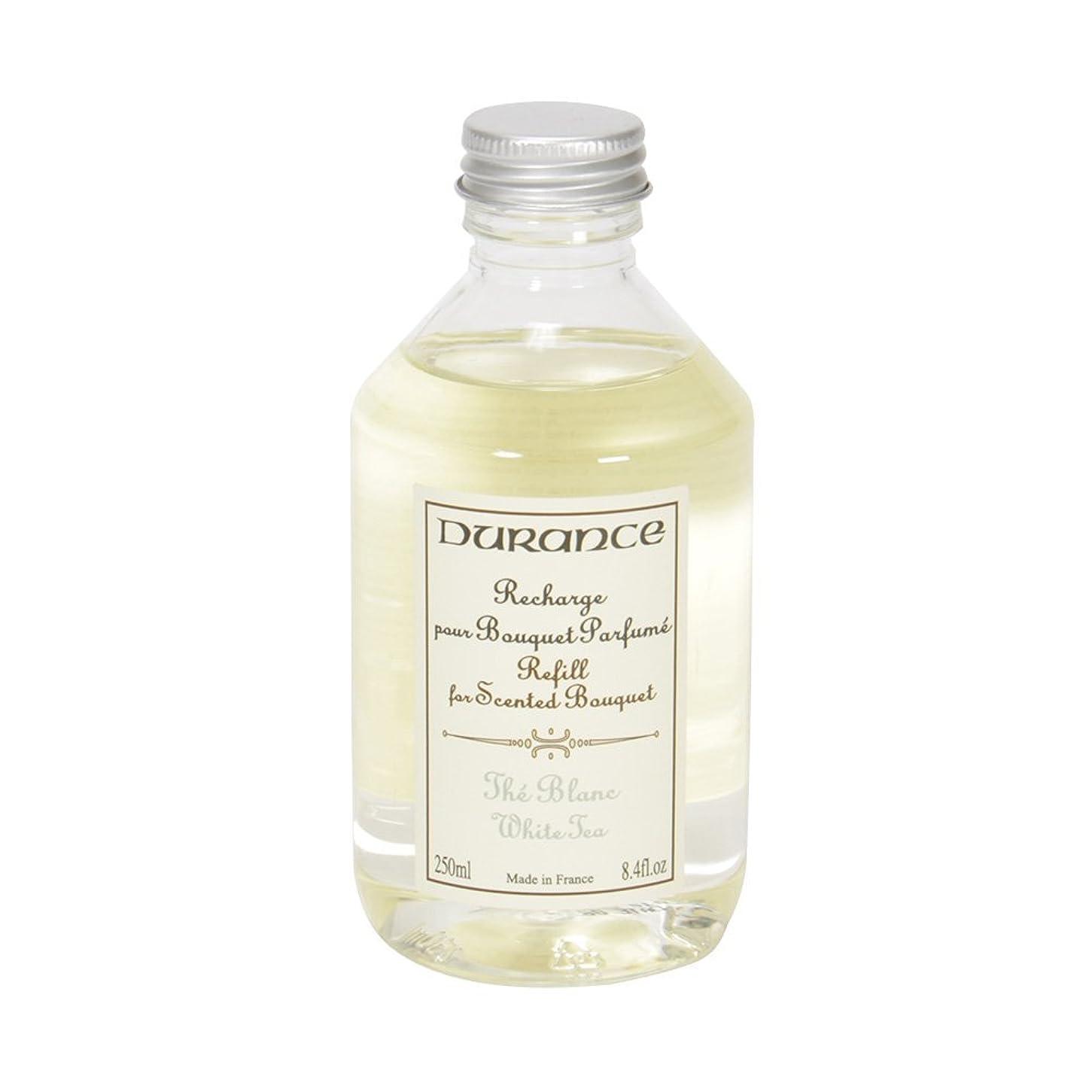自由爪ましい【DURANCE】デュランス スティック型芳香剤 フレグランスブーケ リフィル ホワイトティー