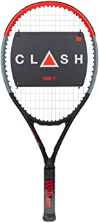 Wilson Clash Junior Tennis Racquet Strung with Synthetic Gut Power in Custom String Colors