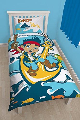 Disney Junior Disney Jake & TNP Sharks Bettwäsche-Set für Einzelbett
