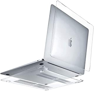 SHINEZONE MacBook Pro 13 2020 専用 ケース 超薄型 PC 保護ハードケース つや消し 軽量 マックブックエア MacBook Pro 13 2020 2020 シェルカバー 擦り傷防止 着脱簡単(クリア)