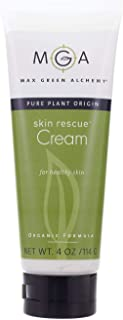 Skin Rescue Cream – 4 Ounces - Organic Formula Hydrating Face and Body Cream for Daily Use – Supports the Treatment of Psoriasis, Dermatitis and Eczema – For Dry, Itchy, Dehydrated, Sensitive Skin