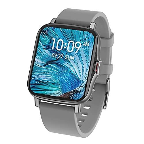 ZGZYL FM08 Bluetooth Llame A Smart Watch, Rastreador De Deportes De Fitness para Hombre con Presión Arterial Y Monitor De Frecuencia Cardíaca, Adecuado para Mujeres Inteligentes De iOS Android,F