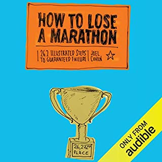 How to Lose a Marathon audiobook cover art