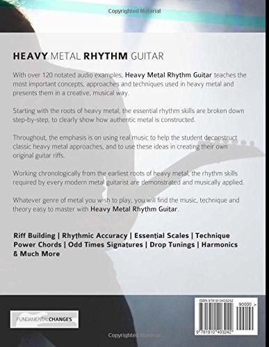 Heavy Metal Rhythm Guitar: The Essential Guide to Heavy Metal Rock Guitar (Learn Heavy Metal Guitar) (Volume 1)
