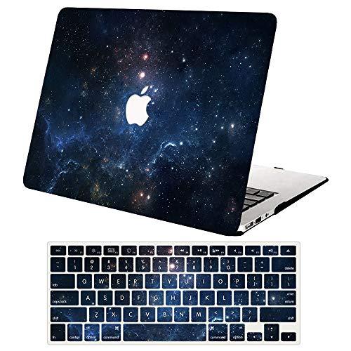 ACJYX MacBook Pro 13 inch Case 2020 2019 2018 2017 2016 Release A2338 M1 A2251 A2289 A2159 A1989 A1706 A1708, Plastic Hard Shell Case & Keyboard Cover for New MacBook Pro 13',Nebula