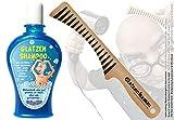 Glatzen-Shampoo + Glatzenkamm (SET) - Der Kamm für die Glatze & Glatzenshampoo (SET) -...