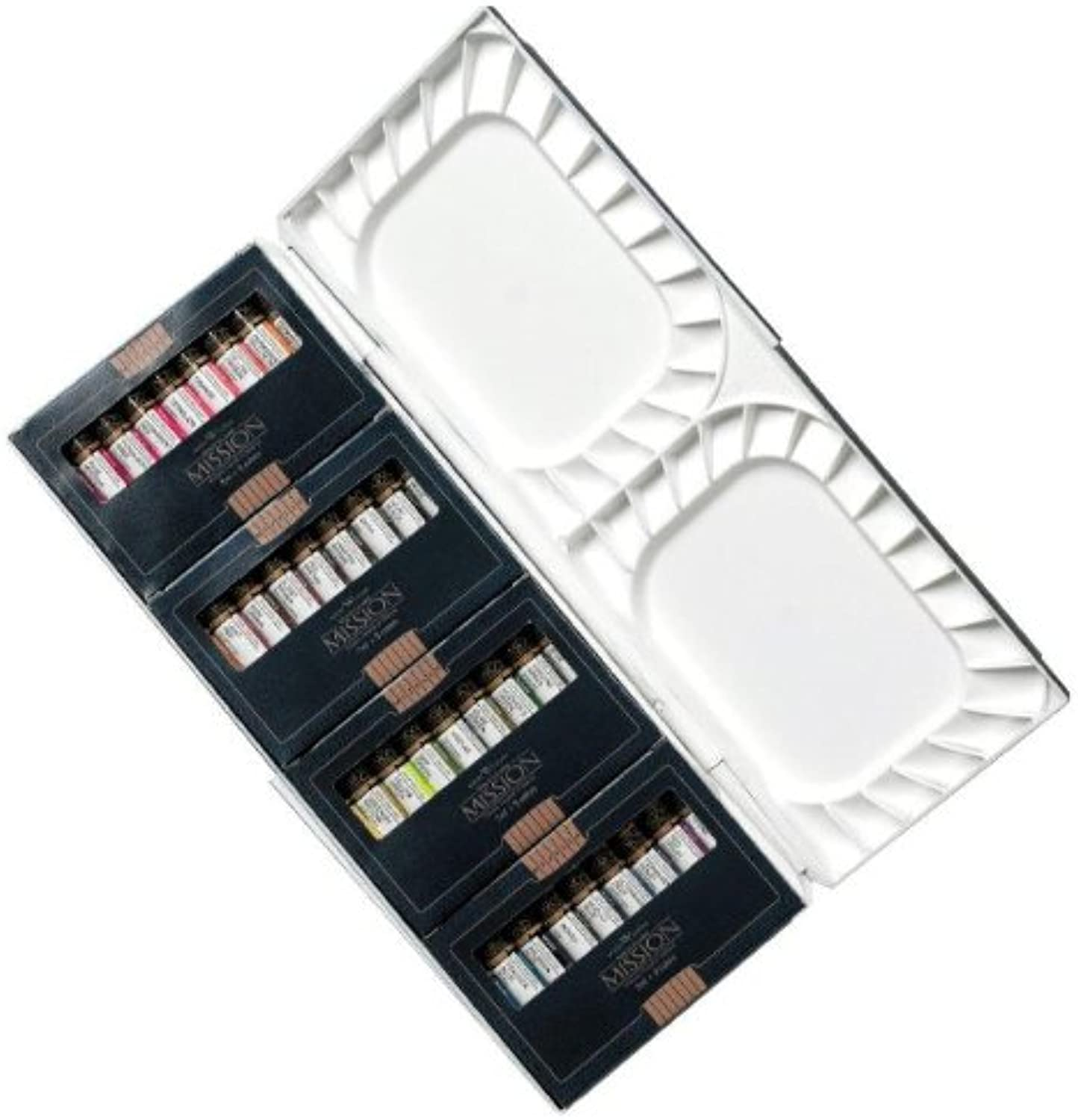 Mijello Mission Gold Class Mission Gold Water Farbe Palette Set, 36 Farbes by B00BFCGF2O   Outlet Store Online