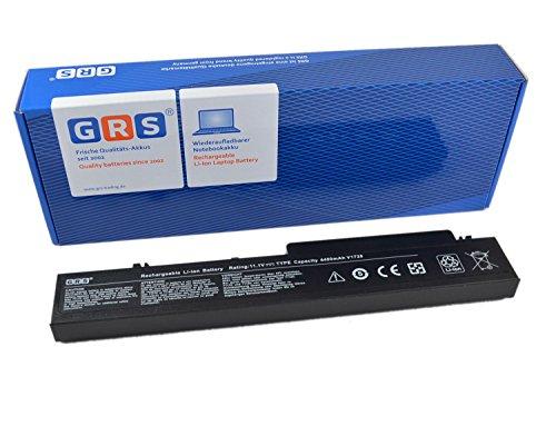 GRS Batterie pour Dell Vostro 1710 1720 remplacé: T117C T118C 451-10612 312-0741 312-0740 P726C P722C Laptop Batterie 4400mAh, 11.1V