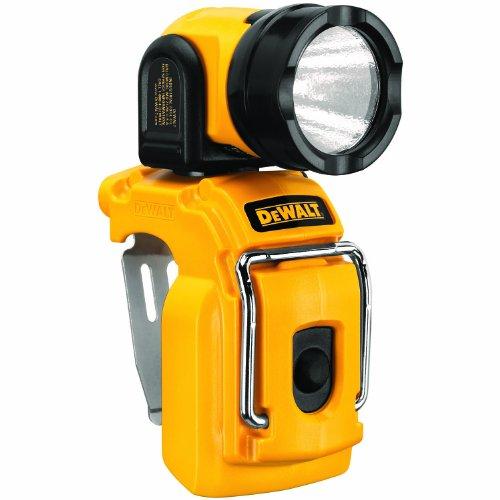 Dewalt Alkku LED-lamp (10,8 V XR, 110 lumen, ca. 10 uur. Lichtduur (met 2 Ah-accu), verticaal, horizontaal 180 ° draaibaar, levering zonder accu en oplader) DCL510N