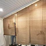 Estores Enrollables Cortina de Bambú de La Sala de Estar del Dormitorio de La...