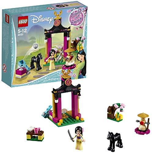LEGO Princesas Disney-41151 Día de entrenamiento de Mulan (41151), única
