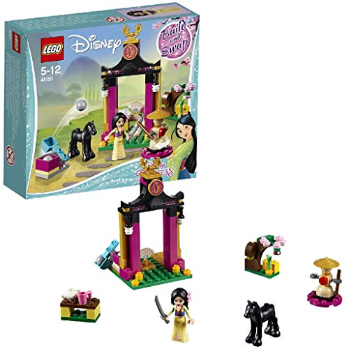 LEGO- Disney Princess Giornata di Addestramento di Mulan, Multicolore, 41151