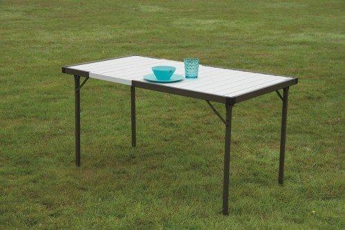 Quest Deluxe Range Premium Extending Aluminium Table
