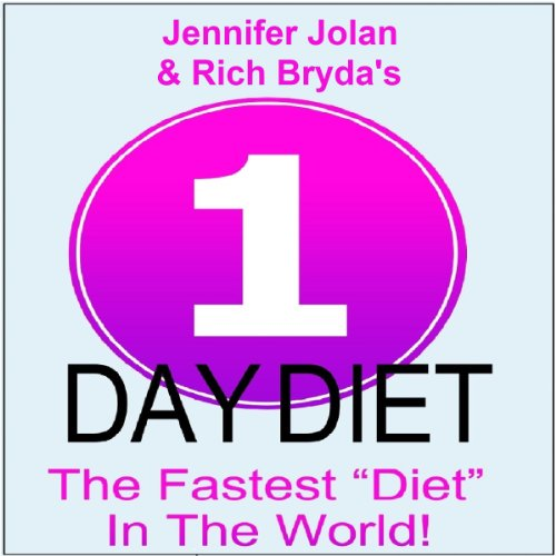 The 1-Day Diet audiobook cover art