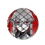 Mini Office Depot Anime japonés Mirai Nikki Broche Badge Set, Pin de botón de Dibujos Animados Accesorios para Ropa Sombrero Mochila Decoración(Style 05)