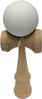 Tasse Newly Designed Kendama, Sticky Paint, Bigger Cups (White)