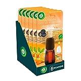 Air Wick Diffusore Di Fragranza Con Oli Essenziali, 6 Ricariche, Fragranza Mandarino e Arancia Dolce