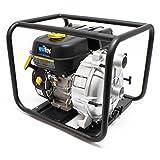 LIFAN Benzin Schmutzwasserpumpe 36m³/h 26m 4.8kW (6.5PS) 50mm (2') Gartenpumpe