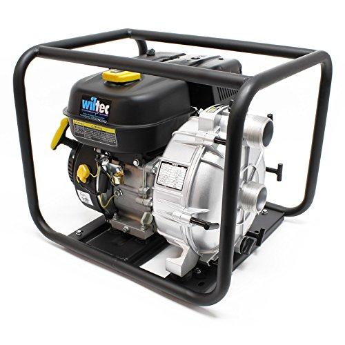 """LIFAN Benzin Schmutzwasserpumpe 36m³/h 26m 4.8kW (6.5PS) 50mm (2"""") Gartenpumpe"""