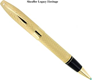 Sheaffer Legacy II Made in USA Heritage Kings Gold 855 Rollerball Pen