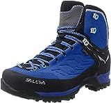 Salewa Damen WS Mountain Trainer Mid Gore-TEX Trekking-& Wanderstiefel, Marlin/Alloy, 35 EU