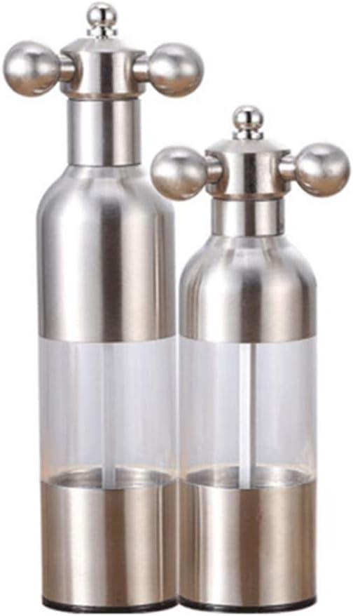 世界の人気ブランド NJZYB ランキングTOP5 Salt and Pepper Grinder Faucet Steel Sal Manual Stainless