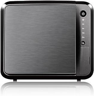 Zyxel Privater Cloud Speicher / Storage [4 Bay NAS] mit Fernzugriff und Media Streaming (JBOD, RAID 1, RAID 5) [NAS542]
