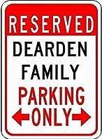 金属看板は、駐車場ノベルティスズストリートサイン