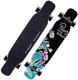 LittleNUM Skateboard Longboard 8 Layers Decks 46,5'x 9,5' Pro...