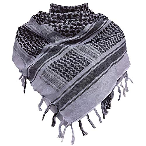 Chalier Palästinenser Tuch 100% Baumwolle Militär Tactical Desert Shemagh Schal MEHRWEG