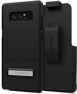 Seidio Surface Combo Case for Samsung Galaxy Note 8 - Black/Black