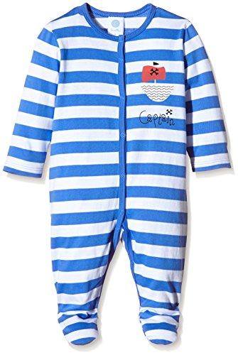 Sanetta Baby-Jungen 222129 Schlafanzugoberteil, Blau (Amparo Blue 5987), 62