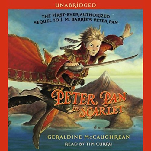 Peter Pan in Scarlet audiobook cover art