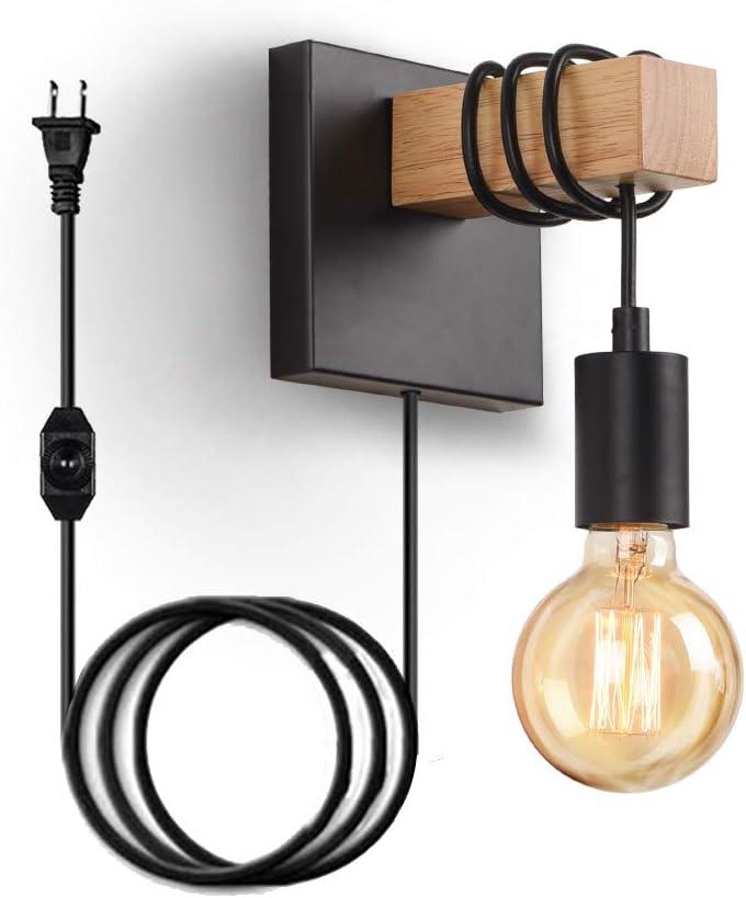 木质墙壁灯#118