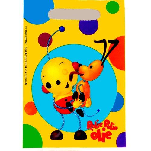 Wilton - Rolie POlie Olie Pack de 8 - Sacs à Surprises Anniversaire Enfant
