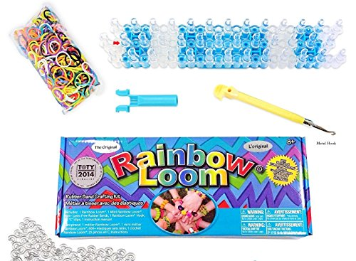 Rainbow Loom / Arcobaleno Loom Crea Il Tuo Bracciale Kit - Elastici, Twist, Arcobaleno, Scoobies