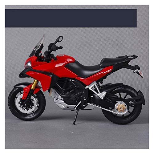 LYJB 1:12 para Ducati Multistrada 1200S Motorycle Metal Model Toys para Niños Cumpleaños Regalo Toys Collection Modelo de Motocicleta