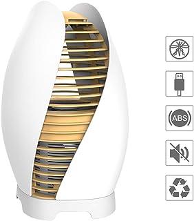 BZLEK Lámpara Antimosquitos, 2.5W Fly Zapper, Electrico Lámpara Anti Mosquitos, Mini Repelente De Plagas para Moscas/Mosquitos/Polillas, Trampa De Mosquito Interior para El Hogar