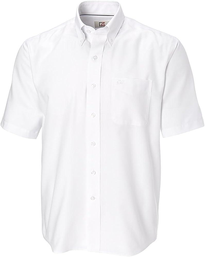 Cutter & Buck mens Big & Tall Short-sleeve Shirt