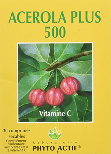 PHYTO ACTIF - Acérola Plus 500 30 Cps