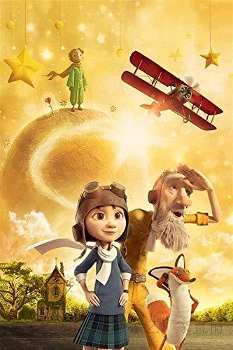 1000 stukjes houten puzzel voor volwassenen/kinderen, educatieve decompressie speelgoedpuzzel (kleine prins-film), afmeting 70 * 50cm