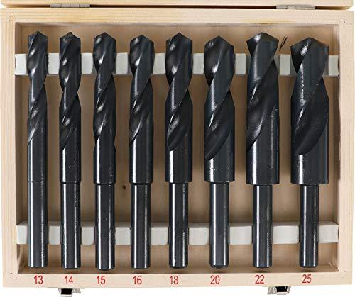 BGS 2019 | HSS-Bohrer-Satz | 8-tlg. | 13 - 25 mm | XXL | 13 mm Schaft für alle Bohrmaschinen