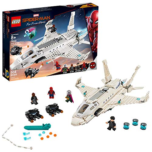LEGO Marvel Spider Man Far From Home: Stark Jet and the...