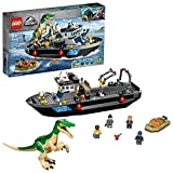 LEGO Jurassic World Baryonyx Dinosaur Boat Escape 76942 Building Kit; Cool Toy Playset for Creative Kids; New 2021 (308 Pieces)