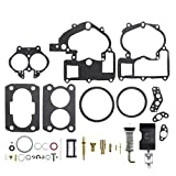 MOTOALL Carburetor Rebuild Kit For Mercruiser Marine 3302-804844002 3.0L 4.3L 5.0L 5.7L 1389-9563A1 1389-9564A1 1389-9670A2 1389-806077A2