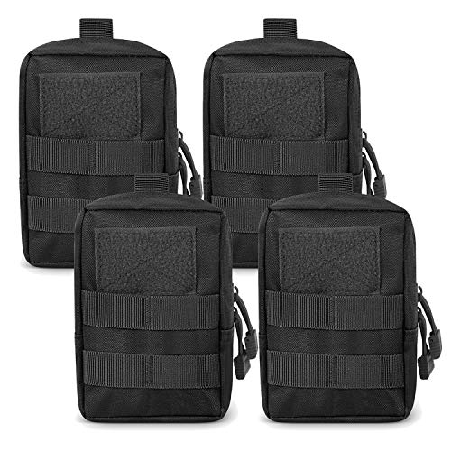 Gogoku 4-Pack Molle Pouch Tactical Molle Pouches Compact...