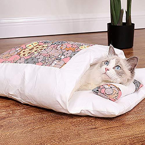 ASLD Katze Kennel, Katzenhund Schlafsack, Katze Winterdecke, geschlossener Warmer...